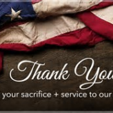 Thank You Veterans For Your Service